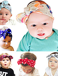 Headband Headwear Girl Flower Newborn Baby Infant Toddler Kid Girl Hair band Christening Elastic Hair Accessories 6pcs