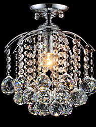 Classic Crystal LED Ceiling Light for Beautiful Bedroom Decoration