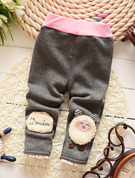 Girl Casual/Daily / Sports Solid / Print Pants-Cotton Winter / Fall