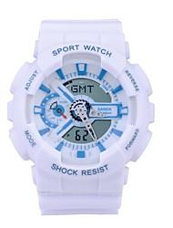 Дети Спортивные часы / Армейские часы / Смарт-часы / Модные часы / Наручные часы Цифровой / Японский кварцLED / Секундомер / Защита от