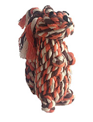 Cat Toy Dog Toy Pet Toys Chew Toy Teeth Cleaning Toy Rope Squirrel Woven Textile