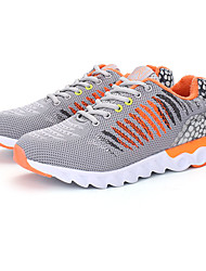 Women's Athletic Shoes Spring Fall Comfort PU Casual Flat Heel Lace-up Black Blue Red Coral Light Green