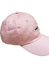 Cap/Beanie / Hat Breathable / Comfortable Unisex Leisure Sports / Baseball Spring Pink / Black