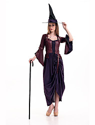 Wizard/Witch Festival/Holiday Costumes Dress / Hats / Briefs Female Polyester
