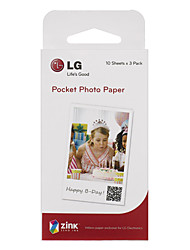 Lg Original Polaroid  Paper With 30 Photos/Ps2203 Box  For Popo Printing Machine Mobile Phone Special