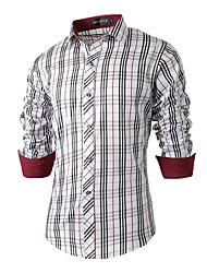 Men's Casual/Daily Simple Fall / Winter Shirt