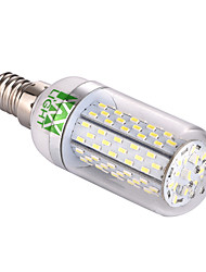 7W E14 Ampoules Maïs LED T 120 SMD 3014 550-650 lm Blanc Chaud / Blanc Froid Décorative V 1 pièce