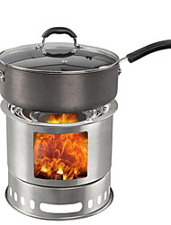 BL liga Camping Utensílio para Comer Set / Pã / fogão / Acessórios Fogão prata Conjuntos outdoors