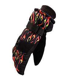 Ski-Handschuhe Vollfinger Damen / Herrn Sporthandschuhe warm halten / Antirutsch / Wasserdicht / Winddicht / Schneedicht Handschuhe