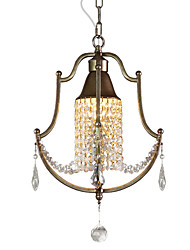 Pendant Light ,  Modern/Contemporary Vintage Country Painting Feature for Crystal Designers MetalLiving Room Bedroom Dining Room Study