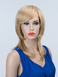 Beautiful Long Capless Wigs Natural Wavy Human Hair