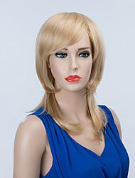 bela sem tampa longa perucas de cabelo humano ondulado natural