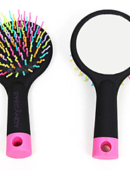 Wig Brushes & Combs Wig Accessories Plastic Wigs Hair Tools Rainbow Wave Curl Air Volume Brush Massage Rounded Shampoo Comb
