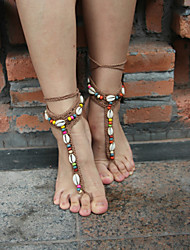 Women's Anklet/Bracelet Leather Fabric European Jewelry For Party Sports