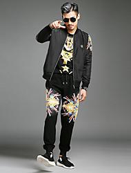 2016 inverno nova moda personalidade algodão casual tendência jaqueta magro