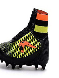 Soccer Shoes Men's Anti-Slip / Anti-Shake/Damping / Wearproof / Breathable PVC Cotton Fabric Football
