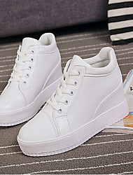 Women's Sneakers Others PU Casual Black White
