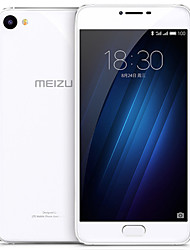 """MEIZU U10 5.0 """" YunOS 3.0 4G Smartphone ( Dual - SIM Octa Core 13 MP 2GB + 32 GB Schwarz / Weiß )"""