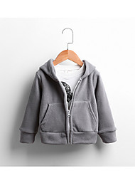 Boy Casual/Daily / Sports Solid Jacket & Coat,Cotton Winter / Fall Long Sleeve