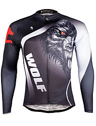 Ilpaladin Sport Men Long Sleeve Cycling Jerseys  CX719