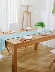 Rectangular Patterned Table Runner , Cotton Blend Material Hotel Dining Table / Wedding Party Decoration / Table Decoration