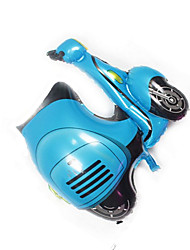 Balloons Holiday Supplies Motorcycle Aluminium Blue For Boys / For Girls 5 to 7 Years / 8 to 13 Years
