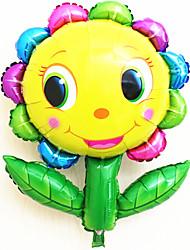 Balões Decoração Para Festas Circular alumínio Arco-Íris Para Meninos / Para Meninas 5 a 7 Anos / 8 a 13 Anos