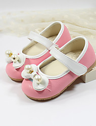 Girl's Flats Spring Fall Comfort Leatherette Casual Blue Pink Red