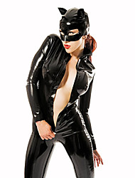 Catwoman Festival/Holiday Costumes Leotard/Onesie / Mask Female Polyester