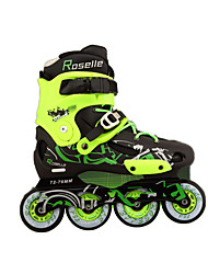 Inline Skates Unisex Anti-Slip Cushioning Outdoor Rubber PVC Leather PU PVC Skiiing Leisure Sports