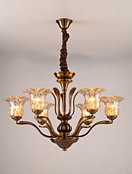 Chandelier   Modern/Contemporary Electroplated Feature for LED Metal Living Room / Dining Room / Study Room/Office