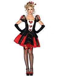 Queen of Hearts Costume Accessories Fancy Dress Alice Nightclub Club Wear Party Women Costumes Women Halloween Cosplay