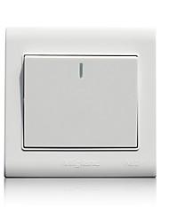 86 um controle interruptor de parede casa dupla aberta