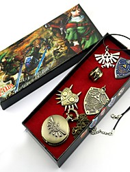 Orologio / Distintivo / Altri accessori Ispirato da The Legend of Zelda Link Anime Accessori Cosplay Collane / Distintivo / OrologioNero