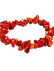 Pulseiras Pulseiras em Correntes e Ligações Cristal / Turquesa Aniversário / Diário Jóias Dom Vermelho,1peça