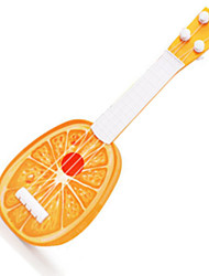 ORANGE CHILDREN CARTOON FRUIT GUITAR/ Plastic/ Outdoor Toy /Music Toy