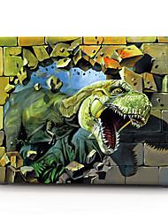 "Case for Macbook 13"" Macbook Air 11""/13"" Macbook Pro 13"" MacBook Pro 13"" with Retina display Animal Plastic Material 3D Tyrannosaurus"