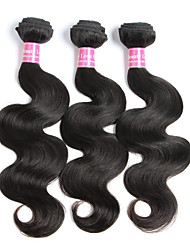 3 Bundles Brazilian Virgin Remy Hair Body Wave Human Hair Weave Extensions 300g