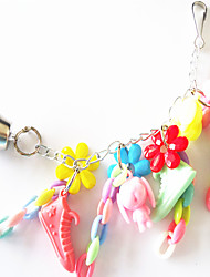 multi-color de metal portátil de brinquedos do pássaro acrílico 1pc