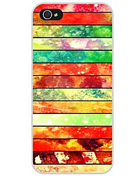 For Pattern Case Back Cover Case Lines / Waves Soft TPU for iPhone 7 7 Plus 6s 6 Plus SE 5s 5 5C 4s 4