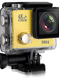 PRO4 Action Kamera / Sport-Kamera 16MP 4000 x 3000 Wifi / Wasserdicht / Einstellbar / Kabellos 30fps 10x ± 2 EV 2 CMOS 32 GB H.264
