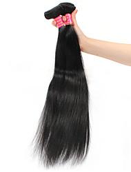 Lidské vlasy Vazby Brazilské vlasy Proste 6 měsíců Vazby na vlasy