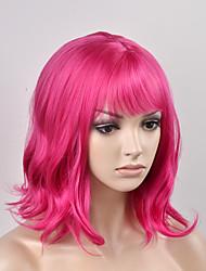 European and American women fashion pear head red short hair high temperature wire wig