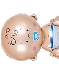 Воздушные шары Необычные игрушки Пластик Коричневый