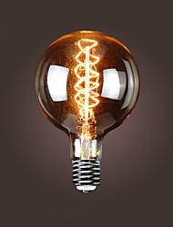 bofa G150 e40 40w antique edison seda lâmpada bolha bola (85v-265v)