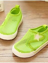 Girl's Sandals Comfort Tulle Casual Black Blue Green Orange Peach