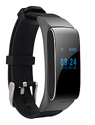 DMDG Separable Bluetooth Smart Bracelet with Pedometer/Touch Screen/Calls/SMS Remind /Sleep Monitor /Alarm Clock