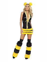 Cosplay Festival/Holiday Costumes Dress / Headwear / Leg Warmers Female Polyester