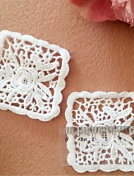 White Cotton 1 Set/Sewing Pattern/Lace/Embroidery/Cotton