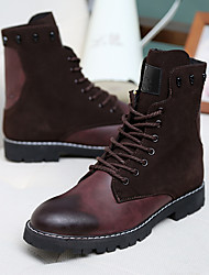 Men's Boots Others PU Casual Black / Brown